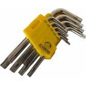 Сталь 48104 Набор Г-образных ключей TORX-